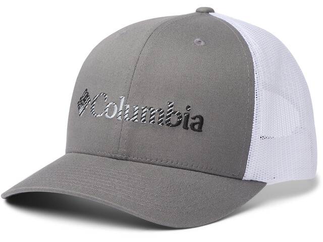 Columbia Mesh Snap Back Gorra, titanium/white/black